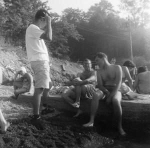 195_Harvey Galonbeck, Marty Birnbaum, Hal Kuperberg_Simkow
